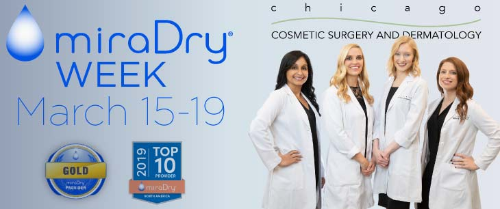 Chicago Dermatology miraDry Week