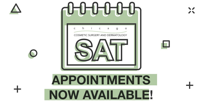 Saturday Appointments Are Back!
